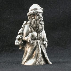 Old World Santa Pewter Figurine