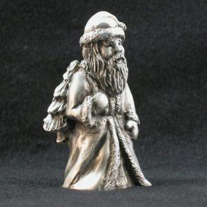 Old World Santa Pewter Figurine