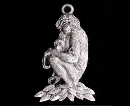 Bonobo Ape Ornament