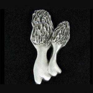 Mushroom pewter pin
