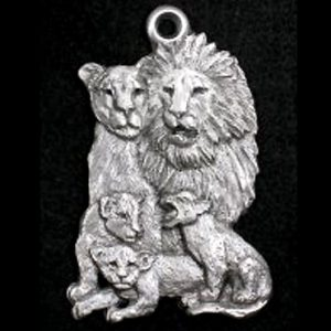 lion family ornament
