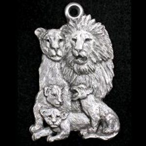 lion family ornament