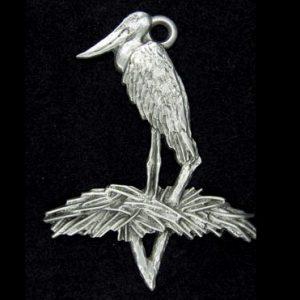 stork ornament