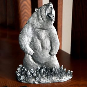 Grizzly Bear Shelf Accent