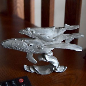 Humpback whales shelf accent