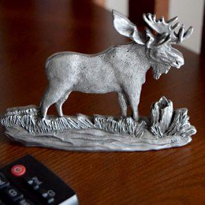 Moose shelf ornament