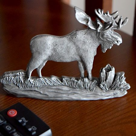 Moose shelf ornament
