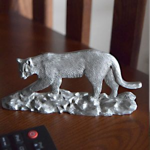 cougar shelf accent in pewter